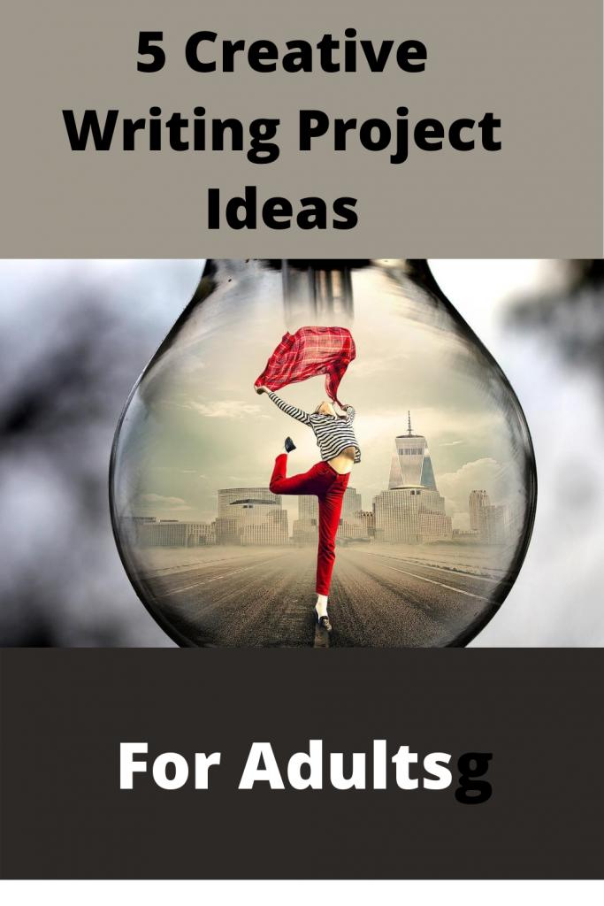 Creative writing projects, creative writing ideas, self care, writers,