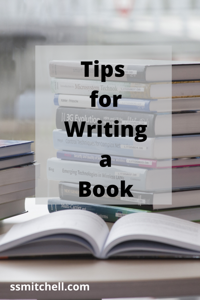 tips for writing a book